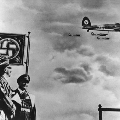 Saksan ilmavoimien paraati vuonna 1937.
