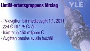 Siffror på hur mycket medieavgift man betalar