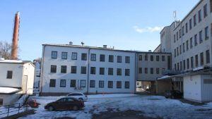 Hellas gamla chokladfabrik i Åbo.