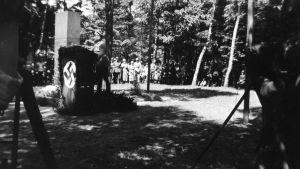 Invigning av Jägarnas minnesmärke i Hohenlockstedt 1939