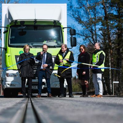 eRoad Arlanda  avattiin 11. huhtikuuta.