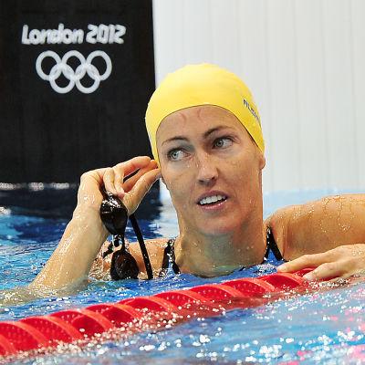 Therese Alshammar är Sveriges fanbärare i OS 2016.