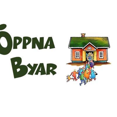 Logo för Öppna byar 2015.