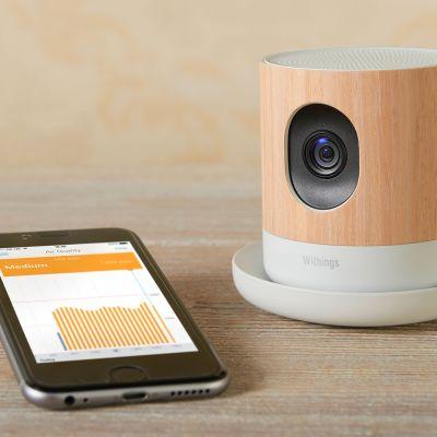 Apple withings valvontakamera.