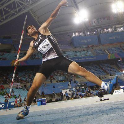 Ihab Abdelrahman kärsi neljän vuoden dopingpannan, joka päättyy maanantaina.