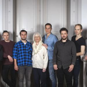 Skådespelare som ska medverka i Okänd soldat i Harparskog sommaren 2017