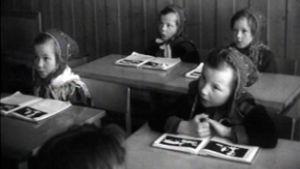 Samiska skolbarn.