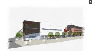 Visioner för Garvartorget i Lojo