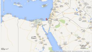 Staden al-Arish på Sinaihalvön i Egypten