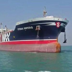 Den svenskägda tankern Stena Impero
