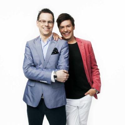 Thomas Deutgen och Thomas Lundin P4 dans Sveriges radio
