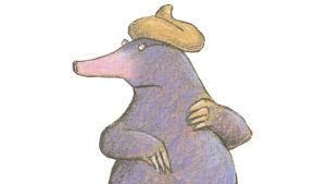 Illustration av Wolf Erlbruch.