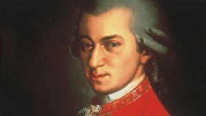 vapaasti käytettävä kuva Mozartista