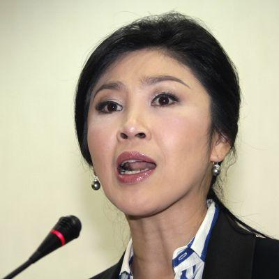 Thailands premiärminister Yingluck Shinawatra.
