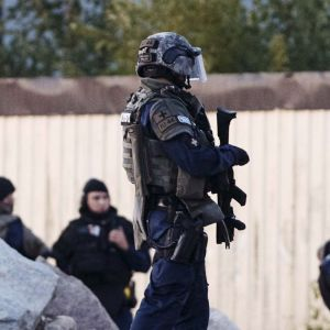 Polispådraget i Borgå söndagen den 25.8