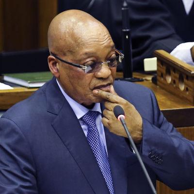 Sydafrikas president Jacob Zuma 17.3.2016