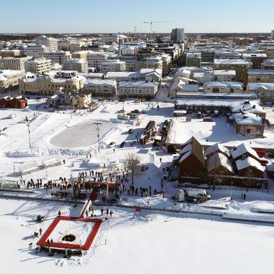 Polar Bear Pitching-tapahtuma Oulussa