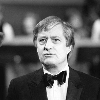 Ossi Runne Euroviisujen kenraaliharjoituksessa 1984.