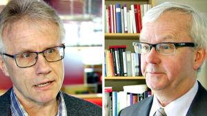 Arto Sulonen och Olli Mäenpää.