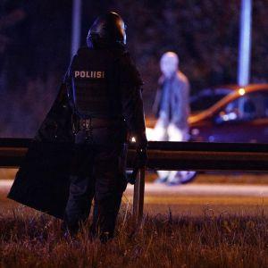 polispådrag i Borgå