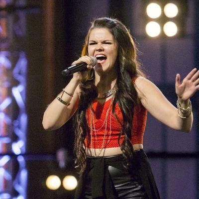 Saara Aalto X-Factorissa.