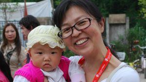 Yang Shuhui har länge arbetat för Rädda Barnen i Kina. Organisationen verkar bland annat i trakter som har drabbats av naturkatastrofer.