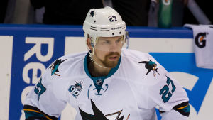 Joonas Donskoi under NHL-säsongen 2015-16.