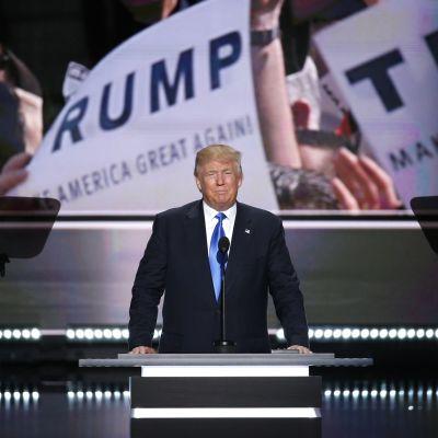 Trump republikaanien puoluekokouksessa Clevelandissa 19. heinäkuuta.
