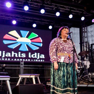 Hanna-Maaria Kiprianoff leuddaa Ijahis Idjassa 2016.