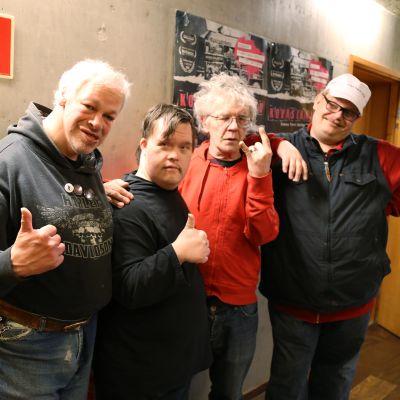 Pertti Kurikan Nimipäivät -yhtye.