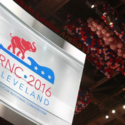 Republikaanien puoluekokous Clevelandissa, Ohiossa.
