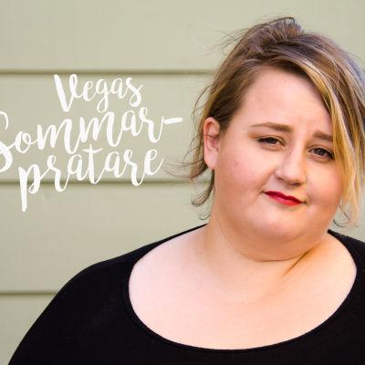 Porträtt av Ellen Strömberg, bloggare och en av Vegas sommarpratare 2017.