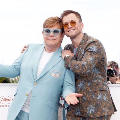 Elton John ja Taron Egerton.
