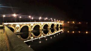 Bild på bron Pont Neuf Toulouse