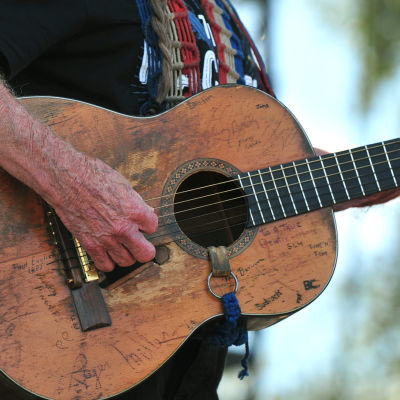 Willie Nelsons gitarr