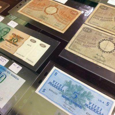 Hyväkuntoiset setelit ja kolikot saattavat olla erittäin arvokkaita.