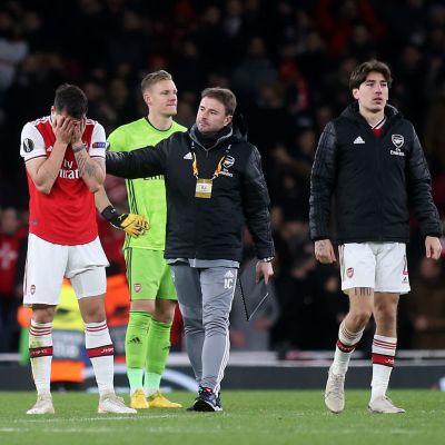 Arsenal deppar efter skräll i Europa League