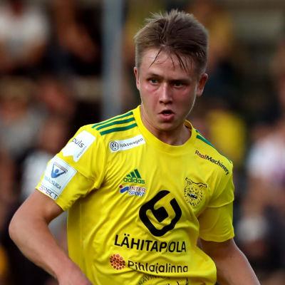 Naatan Skyttä spelar för Ilvesd 2019.