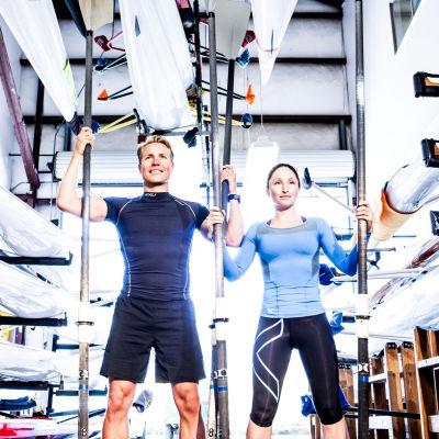 Sami Inkinen och Meredith Loring.