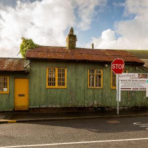 Det gamla irländska tullhuset i Pettigoe