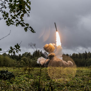 Iskander-missil.