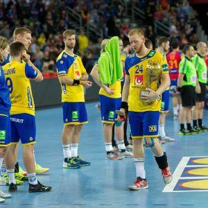 Jim Gottfridsson efter EM-finalförlusten mot Spanien.