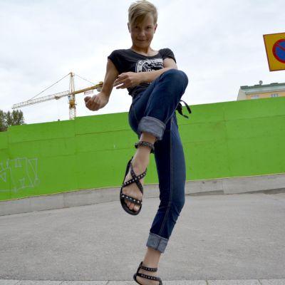 Thainyrkkeilijä Tessa Kakkonen