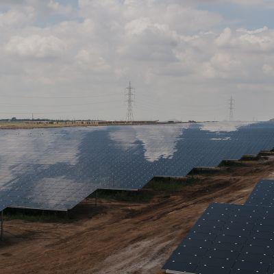 Fortumin Pavagadan aurinkovoimala