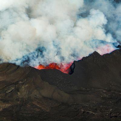 Bardabungan tulivuori purkautuu Islanti.