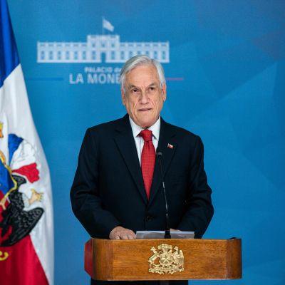 Chilen presidentti Sebastian Pinera