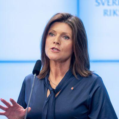 Työministeri Eva Nordmark (sd.)
