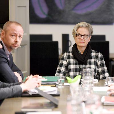 Jyrki Hollmen, Vuokko Piekkala ja Petri Vanhala