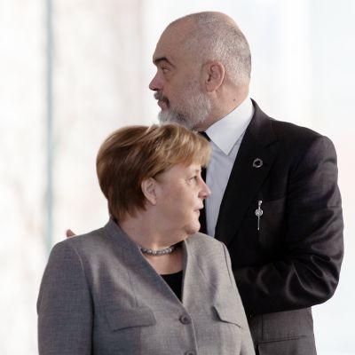 Edi Rama ja Angela Merkel