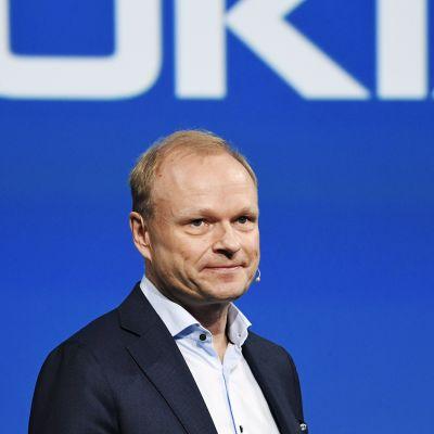 Nokian uusi toimitusjohtaja Pekka Lundmark.